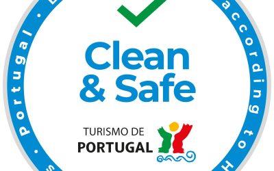 """CLEAN & SAFE"" – Turismo de Portugal"